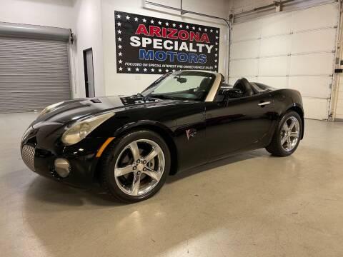 2006 Pontiac Solstice for sale at Arizona Specialty Motors in Tempe AZ