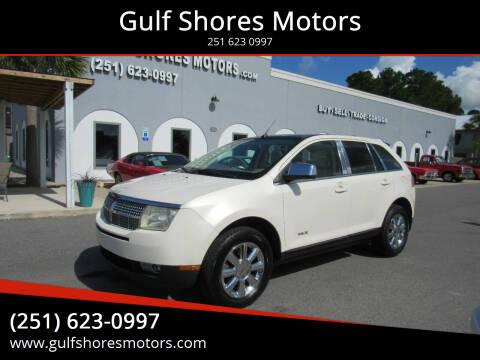 2007 Lincoln MKX for sale at Gulf Shores Motors in Gulf Shores AL