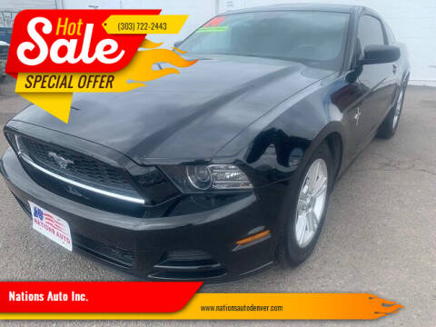 2014 Ford Mustang for sale at Nations Auto Inc. in Denver CO