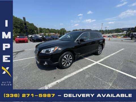 2017 Subaru Outback for sale at Impex Auto Sales in Greensboro NC