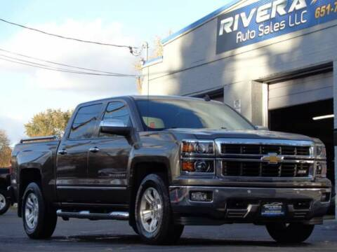 2014 Chevrolet Silverado 1500 for sale at Rivera Auto Sales LLC in Saint Paul MN