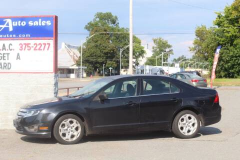 2010 Ford Fusion for sale at Alexander's Auto Sales in North Little Rock AR