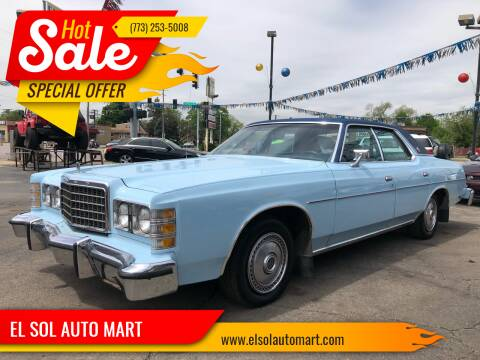 1972 Ford LTD for sale at TOP YIN MOTORS in Mount Prospect IL