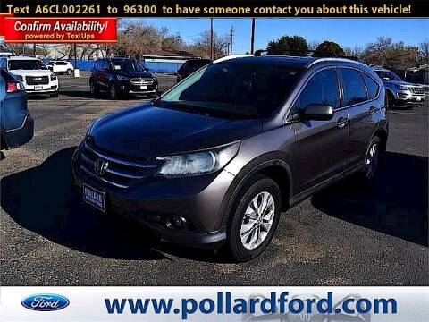 2012 Honda CR-V for sale at South Plains Autoplex by RANDY BUCHANAN in Lubbock TX