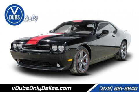 2013 Dodge Challenger for sale at VDUBS ONLY in Dallas TX