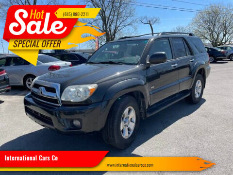 2007 Toyota 4Runner for sale at International Cars Co in Murfreesboro TN