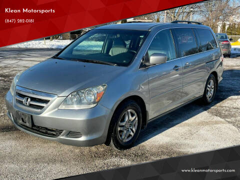 2007 Honda Odyssey for sale at Klean Motorsports in Skokie IL
