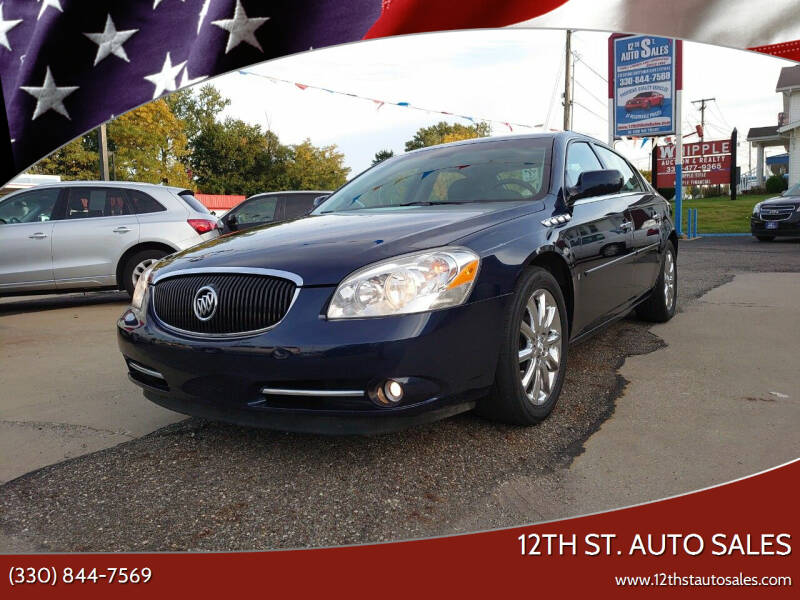 2007 Buick Lucerne for sale at 12th St. Auto Sales in Canton OH