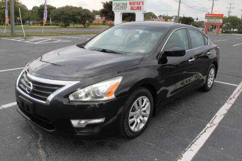 2015 Nissan Altima for sale at Drive Now Auto Sales in Norfolk VA