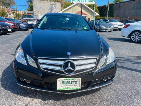 2010 Mercedes-Benz E-Class for sale at Murrays Used Cars in Baltimore MD