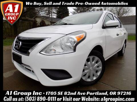 2017 Nissan Versa for sale at A1 Group Inc in Portland OR