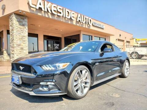 2015 Ford Mustang for sale at Lakeside Auto Brokers Inc. in Colorado Springs CO