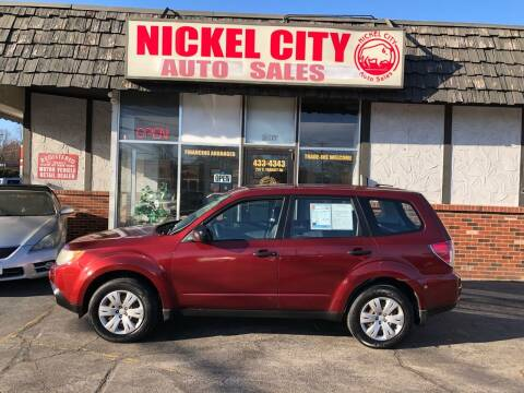 2009 Subaru Forester for sale at NICKEL CITY AUTO SALES in Lockport NY