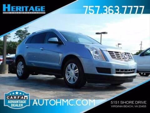 2013 Cadillac SRX for sale at Heritage Motor Company in Virginia Beach VA