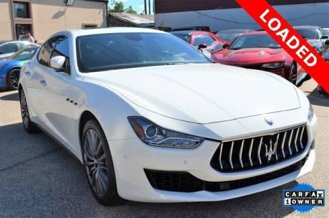 2018 Maserati Ghibli for sale at LAKESIDE MOTORS, INC. in Sachse TX