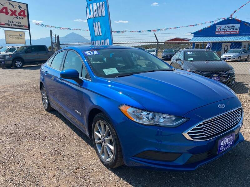 2017 Ford Fusion Hybrid for sale at 4X4 Auto in Cortez CO