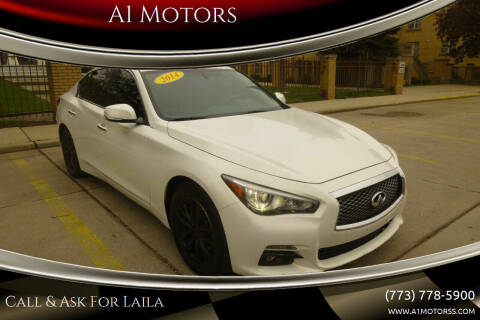 2014 Infiniti Q50 for sale at A1 Motors Inc in Chicago IL