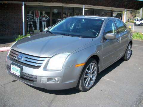 2008 Ford Fusion for sale at Brinks Car Sales in Chehalis WA
