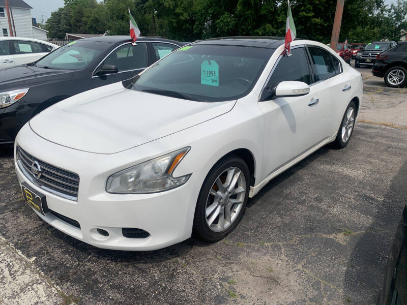 2011 Nissan Maxima for sale at PAPERLAND MOTORS - Fresh Inventory in Green Bay WI
