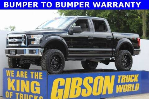 2017 Ford F-150 for sale at Gibson Truck World in Sanford FL