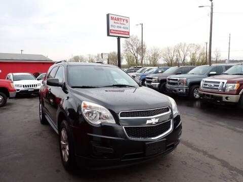 2013 Chevrolet Equinox for sale at Marty's Auto Sales in Savage MN