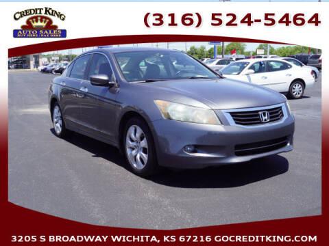 2009 Honda Accord for sale at Credit King Auto Sales in Wichita KS