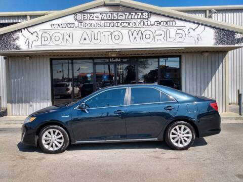 2014 Toyota Camry Hybrid for sale at Don Auto World in Houston TX