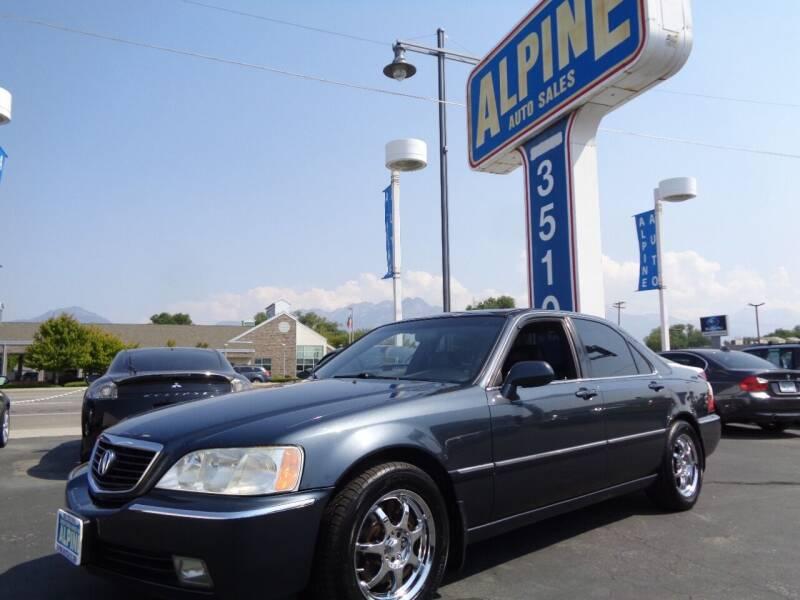 2004 Acura RL for sale at Alpine Auto Sales in Salt Lake City UT