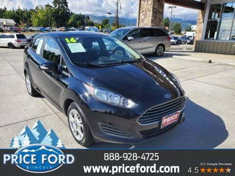 2016 Ford Fiesta for sale at Price Ford Lincoln in Port Angeles WA