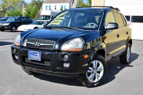 2009 Hyundai Tucson for sale at Lighthouse Motors Inc. in Pleasantville NJ