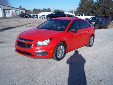 2016 Chevrolet Cruze Limited for sale at SHULLSBURG AUTO in Shullsburg WI