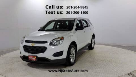 2016 Chevrolet Equinox for sale at NJ State Auto Used Cars in Jersey City NJ