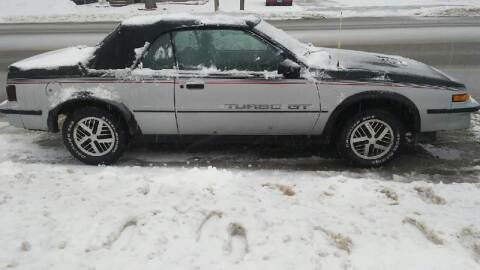 1986 Pontiac Sunbird for sale at Southtown Auto Sales in Albert Lea MN