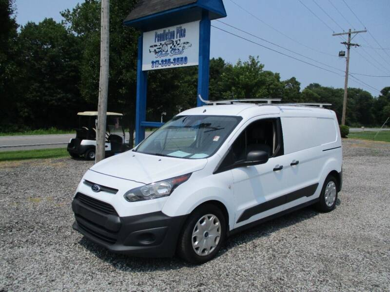 2015 Ford Transit Connect Cargo for sale at PENDLETON PIKE AUTO SALES in Ingalls IN