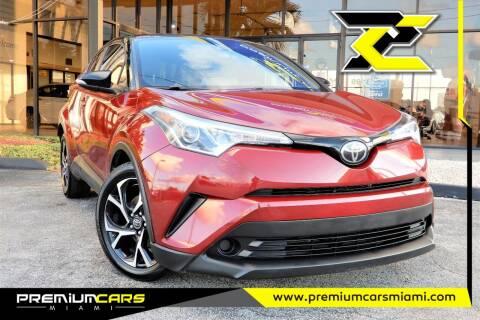 2019 Toyota C-HR for sale at Premium Cars of Miami in Miami FL