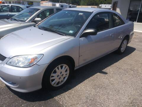 2005 Honda Civic for sale at Charles Baker Jeep Honda in Norfolk VA