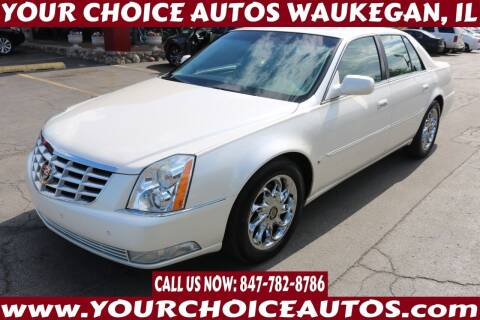 2009 Cadillac DTS for sale at Your Choice Autos - Waukegan in Waukegan IL