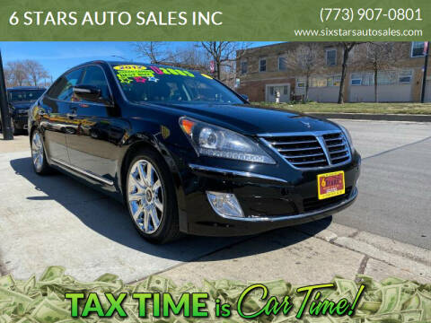 2012 Hyundai Equus for sale at 6 STARS AUTO SALES INC in Chicago IL