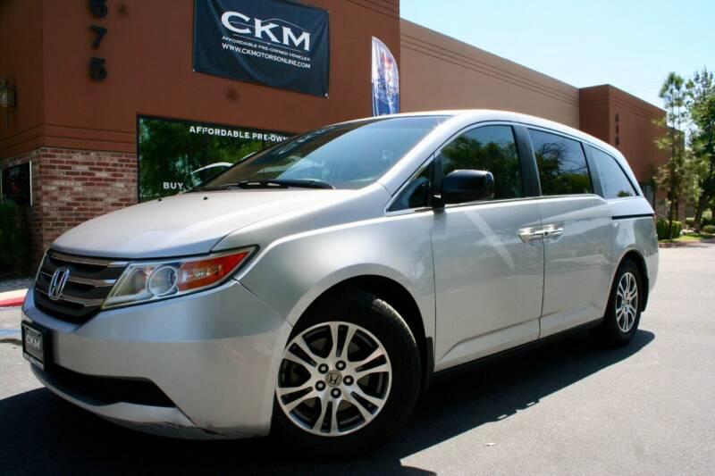 2012 Honda Odyssey for sale in Murrieta, CA