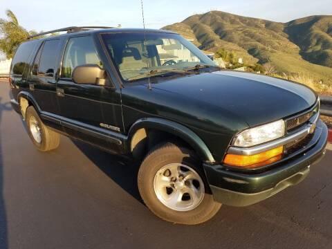 2002 Chevrolet Blazer for sale at Trini-D Auto Sales Center in San Diego CA