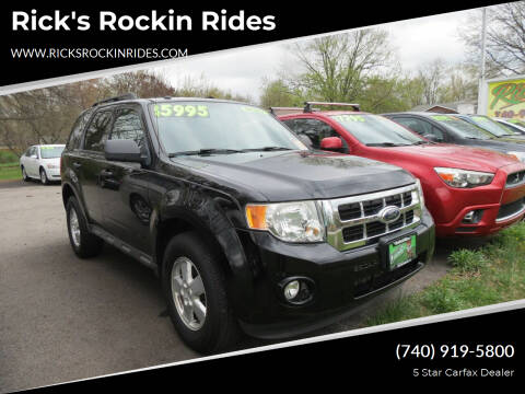 2009 Ford Escape for sale at Rick's Rockin Rides in Reynoldsburg OH