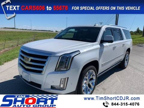 2018 Cadillac Escalade ESV for sale at Tim Short Chrysler in Morehead KY