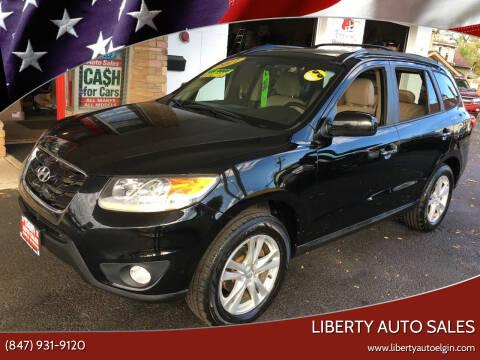 2011 Hyundai Santa Fe for sale at Liberty Auto Sales in Elgin IL