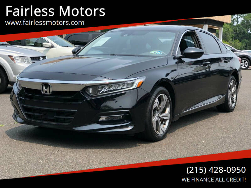 2018 Honda Accord for sale in Fairless Hills, PA