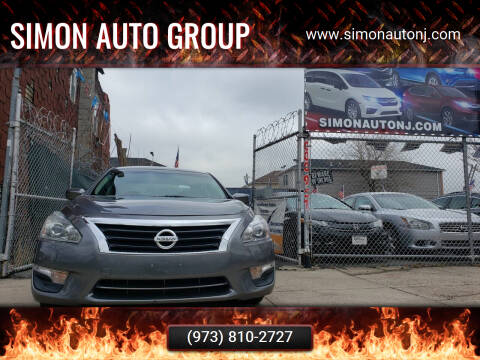 2015 Nissan Altima for sale at Simon Auto Group in Newark NJ