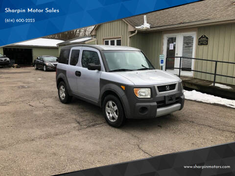2003 Honda Element for sale at Sharpin Motor Sales in Columbus OH