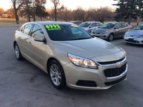 2014 Chevrolet Malibu for sale at Harrison Family Motors in Topeka KS