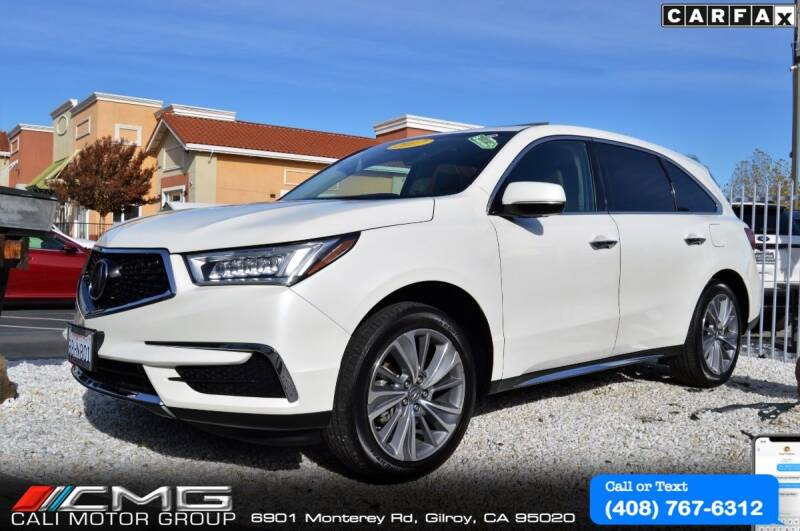 2017 Acura MDX for sale at Cali Motor Group in Gilroy CA