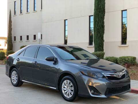 2013 Toyota Camry for sale at Auto King in Roseville CA