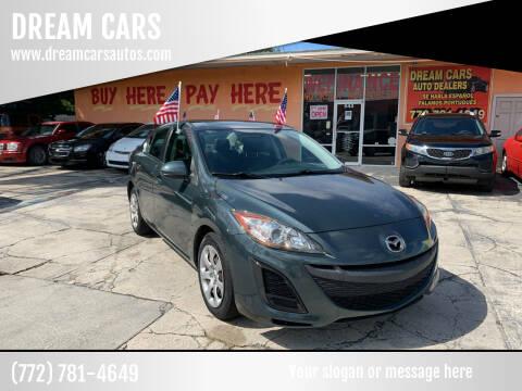 2011 Mazda MAZDA3 for sale at DREAM CARS in Stuart FL